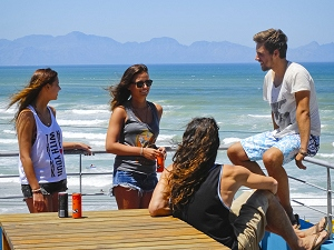 Stoked Backpackers in Muizenberg