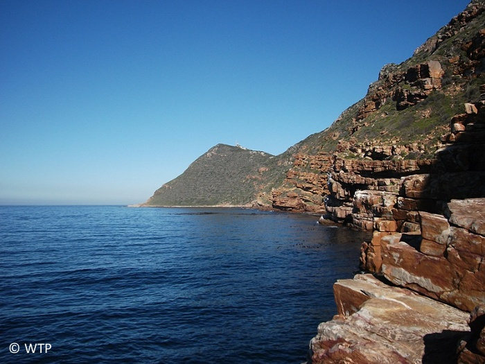 Cape Point is the most southwesterly tip of the African continent.