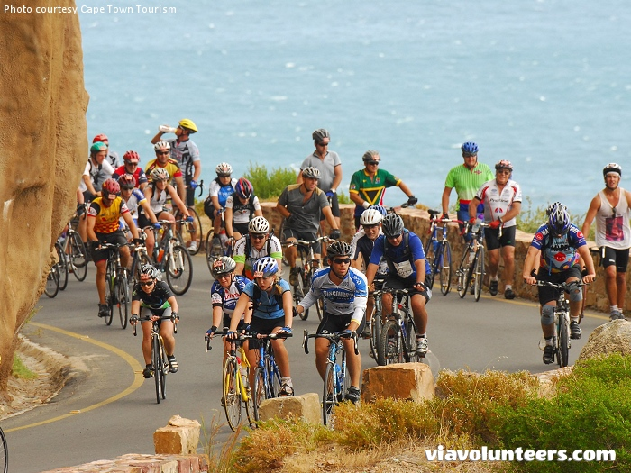 The Cape Argus Pick n Pay Momentum Cycle Tour was established in 1978 and is currently the world's largest timed cycling event. On Chapman's Peak drive...