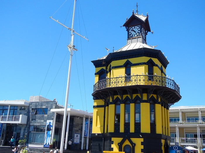 The Victorian Gothic-style Clock Tower has always been an icon of old docks and acted as the original Port Captain's office.