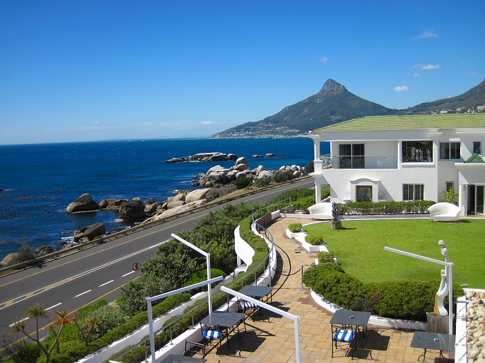 The Twelve Apostles Hotel and Spa, Camps Bay.