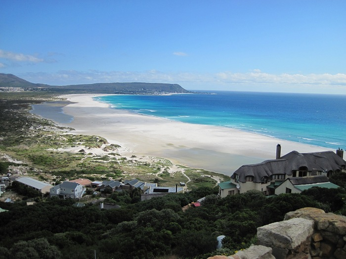 Looking out over the beautiful Noordhoek beach.