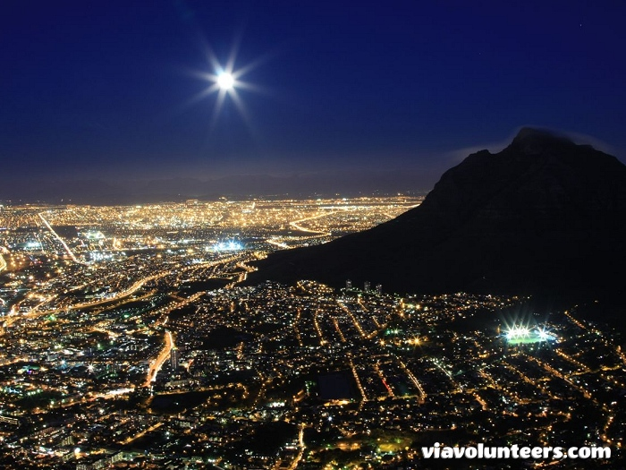 A view from the top on the Lion's Head full moon hike.