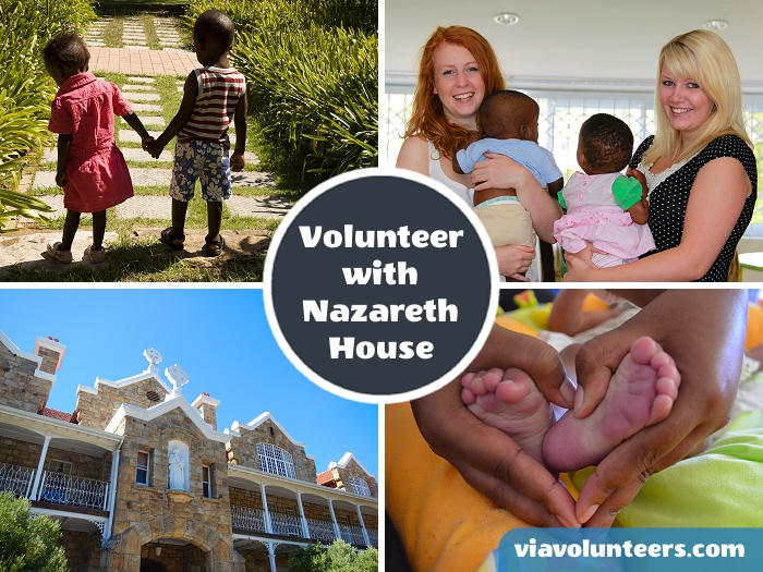 Assist the Nazareth House team in Cape Town to provide residential care to abandoned and neglected children, as well as the elderly.
