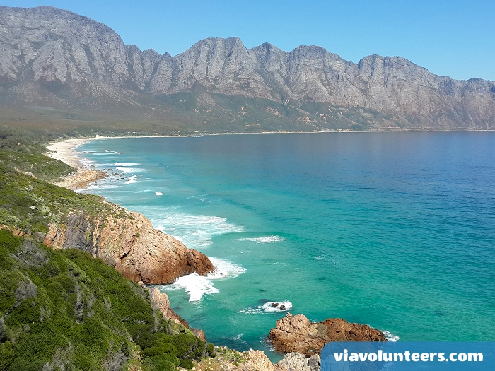 This amazing view is only 10 minutes drive from Gordon's Bay.