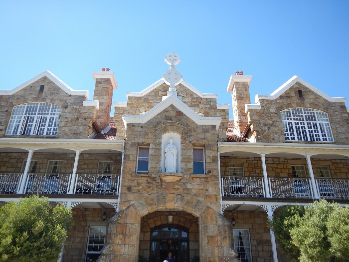 Nazareth House was built using Table Mountain sandstone.