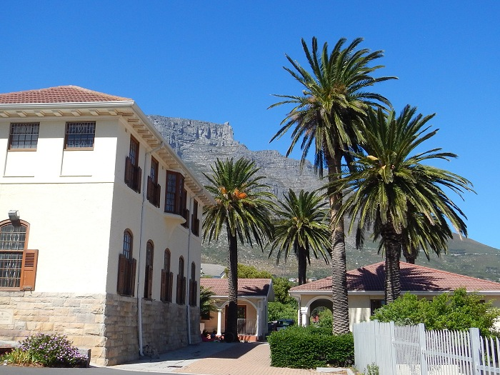 Nazareth House is situated in Vredehoek, just below Table Mountain.