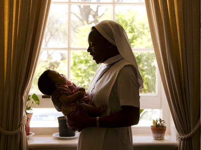 In 1992 the Sisters rose to the challenge of the HIV and AIDS pandemic and Nazareth H ouse in Cape Town became one of the first children's homes in South Africa to take in and care for an HIV - positive baby.
