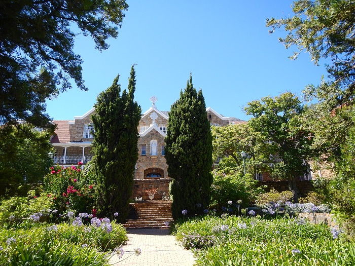 Nazareth House have stunning gardens that are very well kept.