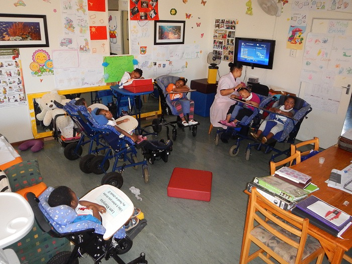 Ons Tuis Cottage - Special needs. Due to the severity of their conditions, these children require 24 hour devotion.