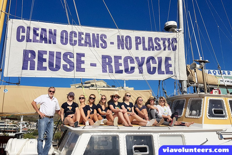 Plastic Pollution in the Oceans - A unique volunteer adventure in Cape Town