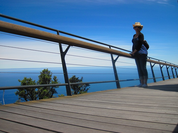 Walkways on the top of Table Mountain give safe access to great views.