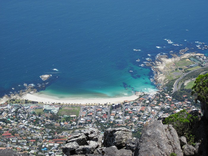 Wow - what a view from the top of Table Mountain!