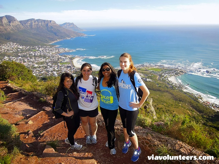 The best thing about the Lion's Head hike is obviously the view over Cape Town, Table Mountain, the Atlantic and Camps Bay. Although the walk can be a bit steep at times, there is nothing too hectic about this hike.