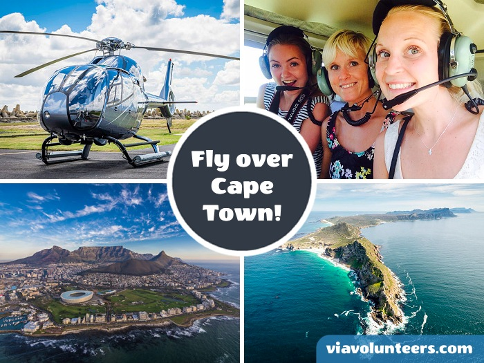 Join Cape Town Helicopters for a once in a lifetime tour of Cape Town and the stunning coastline of the Cape Peninsula.
