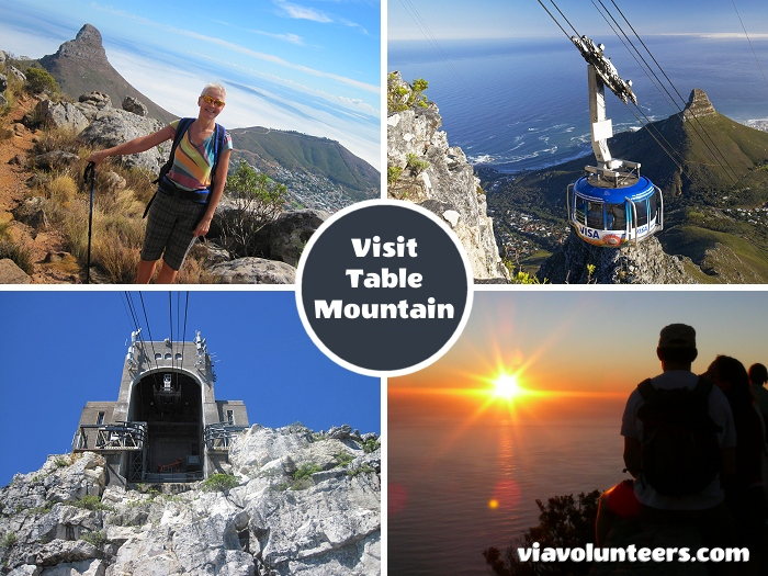 Take a 2-hour hike up Table Mountain via Platteklip Gorge, have lunch at the top, take time to explore all the view points, and take a 5-minute Cable Car ride down. If you're a sunset enthusiast, plan to take the last cable car.