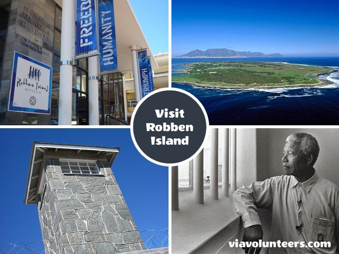 Robben Island is internationally known for the fact that Nobel Laureate and former President of South Africa Nelson Mandela was imprisoned on Robben Island for 18 of the 27 years he served behind bars before the fall of apartheid.