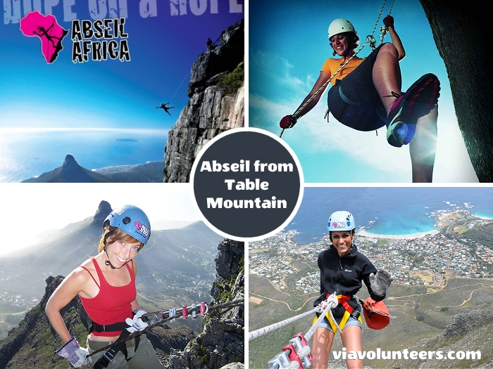 Step off the top of Table Mountain and abseil into pure oblivion and indulge in the world's highest commercial abseil, surrounded by awesome views of the city of Cape Town, Chapmans Peak and the deep blue Atlantic coastline.