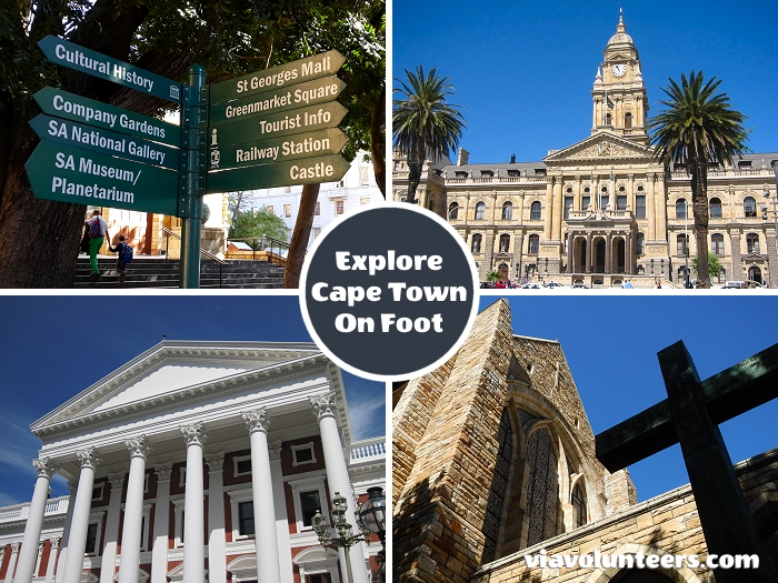 Explore Cape Town on foot. Take in the Company Gardens, City Hall, St. Georges Cathedral, the South African National Museum & Planetarium, the Slave Lodge, the Castle of Good Hope and much more.