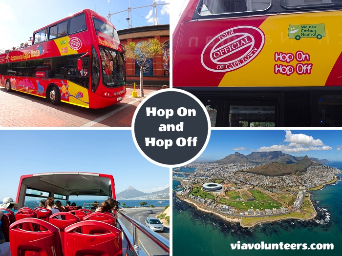 Jump on the Cape Town Hop-on Hop-off tour bus for an easy way to explore the city and visit Camps Bay, Table Mountain, Greenpoint and the V&A Waterfront.