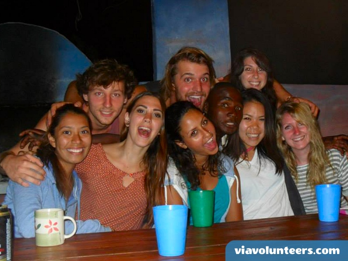 You will meet lots of wonderful new people when you olunteer abroad with Via Volunteers in South Africa during your gap year abroad!