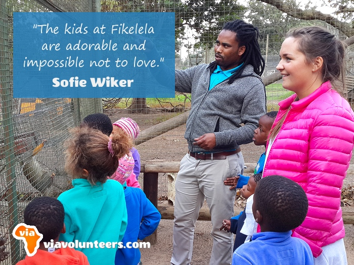 Volunteer Review - Sofie volunteered at Fikelela Children's Home near Cape Town, South Africa.