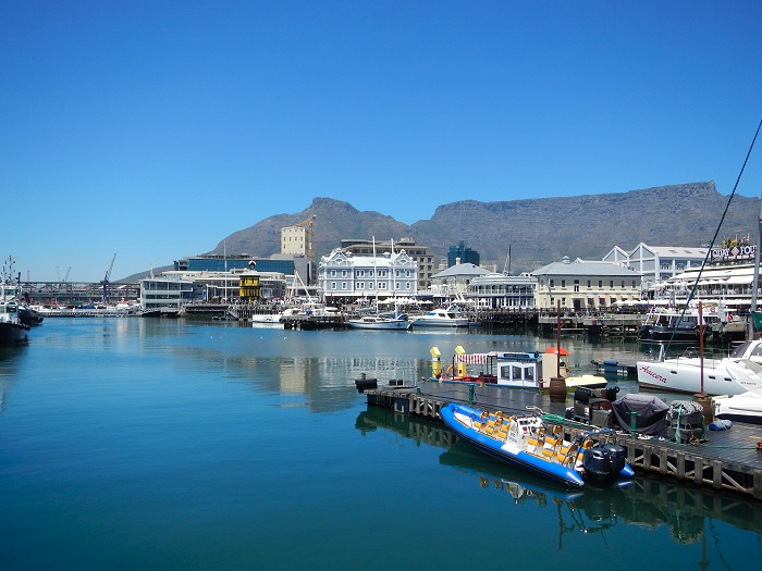 Why not do a historical walking tour of the V&A Waterfront. It takes 45 minutes to an hour and you get to visit 22 landmarks.