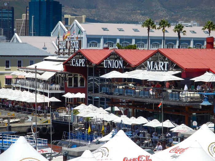 The V&A Waterfront offers a variety of shopping and entertainment options to visitors.