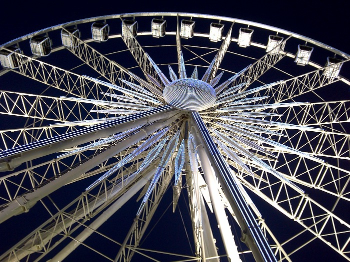 The Wheel of Excellence at the V & A Waterfront.