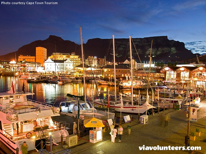 The V&A Waterfront is South Africa's most visited destination, attracting millions of visitors every year!